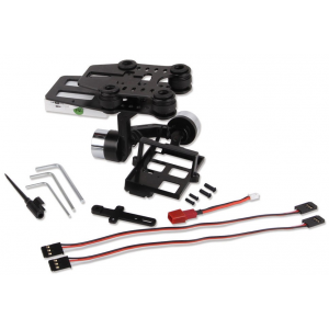 G-2D Brushless Gimbal + controler for GoPro 3 - iLook camera